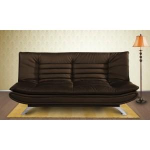 elite-dolphin-3-seater-sofa-bed-leatherrete-brown